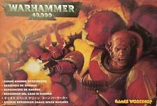 WARHAMMER 40k, Chaos Khorne Berserkers by Games Workshop, 2002 - MINT OOP