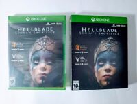 Hellblade Senua's Sacrifice Xbox One Microsoft Studios New Sealed With Slipcover