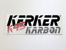 NOS Kerker K45 Karbon Decal - bike cafe racer road racing AHRMA - muffler header