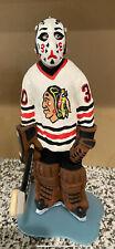 Chicago Blackhawks Murray Bannerman 13 inch custom Goalie figurine