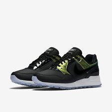 Nike Womens Air Pegasus 89 PRM Premium Running Shoes Black 844889-002 7 dc020226b1