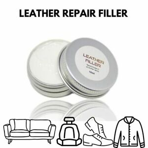 Leather Repair Filler - Repairs to Scuffs, Scratches in all Leather Items KIT