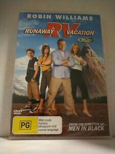 Runaway Vacation Robin Williams NEW & SEALED free post Australia Region 4 DVD