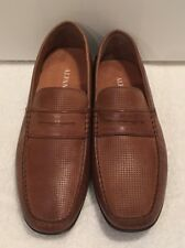 Men's Aldo Brown Light & Flexible Luxe Leather Formal or Casual Slip on Loafer
