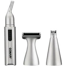 Conair NT1R Battery Operated Personal Grooming Kit Nose/Ear Hair Trimmer