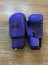 boxing gloves 10 oz leather- Personalised -Pam