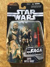 Hasbro 2006 Star Wars The Saga Collection Super Battle Droid 061 MOC
