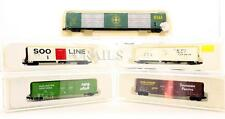 CON COR 'N' GAUGE RAKE OF 5 ASSORTED FREIGHT CARS (6C)