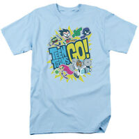 Teen Titans Go! GO Licensed Adult T-Shirt All Sizes