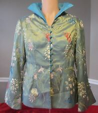 XI-LING-SHI Silk Haute Couture Oriental Style Jacket - Women's S - NWT