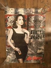 Vintage 1992 Spanish Budweiser Bud Light Que Movida Poster Sexy Model Pin Up