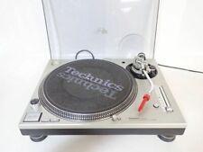 Technics SL-1200 MK5 Silver Direct Drive DJ Turntable WORKING from JAPAN F/S