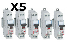 Lot de 5 Disjoncteurs Legrand 20A 230V Phase + Neutre  092824 *NEUF* ORIGINAL