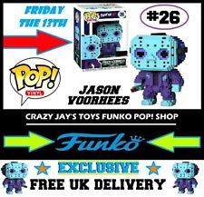 Funko POP! Vinyl Exclusive Horror Friday The 13th Jason Voorhees 8-Bit #26 NIB