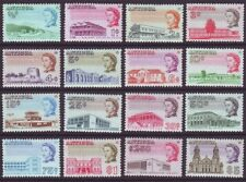 Antigua 1966 SC 167-182 MNH Set Building