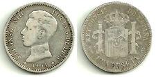 ALFONSO XIII 1 PESETA DE PLATA 1903*(1--03) MADRID SM-V (RC+)