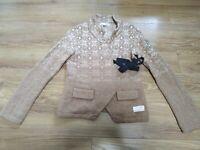 Odd Molly 233 Lambswool Cardigan Jacket Size 1