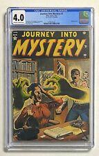 JOURNEY INTO MYSTERY #1 Atlas Comics 1952 CGC 4.0 Hanging Panels