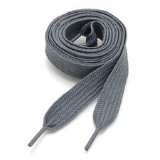 """THICK FLAT FAT SHOE LACES  3/4"""" Wide, 52"""" Long, Ship Fast W/Tracking, USA Seller"""