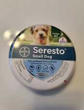 New listing Bayer Seresto Flea and Tick Collar Small Dog Up to 18 lbs   8 Month Protection