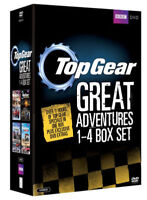 Top Gear - The Great Adventures 1 A 4 DVD Nuovo DVD (BBCDVD3506)