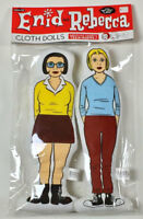 Enid & Rebecca Cloth Dolls ~ Ghost World by Daniel Clowes 2002 Press-Pop Japan