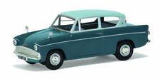 Ford Anglia 105e Deluxe Pompadour Blue & Shark Blue 1:43 Model VANGUARDS