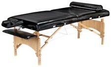 "New Master Massage Black 32"" Husky Gibraltar Xxl Portable Massage Table"