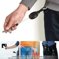 Retractable Key Chain Reel Recoil Pull Badge Reel High Quality L0Z0 For Du V3A2