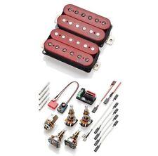 EMG Super 77 Red Retro Active Standard Spaced Long Shaft Pots Set ( OPEN BOX )