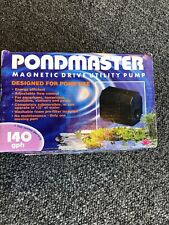 Danner Pondmaster Utility Pump Model 1.5      140 GPH