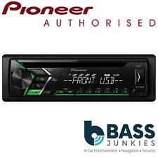 Pioneer DEH-S100UBG 4 x 50W USB CD MP3 AUX Car Stereo Radio Player Green Display