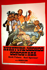 YOU CAN DO AMIGO 1972 BUD SPENCER JACK PALANCE WESTERN  RARE EXYU MOVIE POSTER