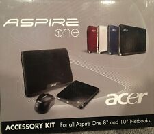 New Acer Aspire One Accessory Kit Wireless Mouse USB Optical DVD Drive & Case