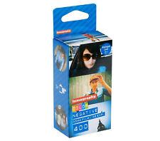Lomography Color Negative 400 Iso 35mm 3 Pack blue New