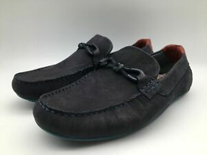 Ex-Display Ted Baker Mortmr Leather Loafers Shoes Trainers Mens Size UK 8