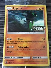 Pokemon : SM FORBIDDEN LIGHT ZYGARDE 72/131 GAMESTOP PROMO HOLO