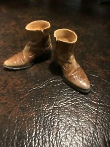1/6 CUSTOM DISTRESSED COWBOY BOOTS (BROWN)