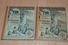 lot 2 livres L'italiano & l'Italia : enseignement italien 1ère / 2e et 3e année