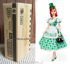 Shamrock Celebration Barbie Doll Holiday Hostess SHIPPER Ireland Irish Gold Labe