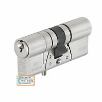 British Standard BSI TS007 3* Anti Snap Bump Pick DOUBLE Euro Cylinder Door Lock