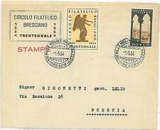 AUTOMOBILE - SPECIAL POSTMARK on COVER - ITALY 1954