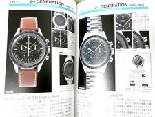 FREE SHIPPING!  OMEGA Vintage watches Speedmaster 1957~ Manual Book History