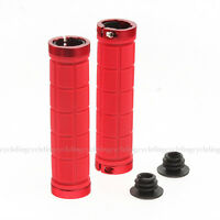 ROCKBROS Bike Fixed Gear Fixie Lock-on MTB Grips Rubber Handlebar Grips Red