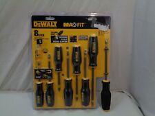 Dewalt Max Fit 8Pc Screwdriver Set (New) # Dwht62058
