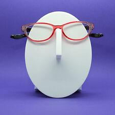 Reading Glasses Rounded Cat Eye Crazy Kitty Bling Sparkle +2.25 Lens