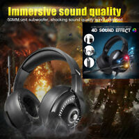 ONIKUMA Stereo Gaming Headset for PS4 Xbox One PC 7.1 Surround Sound Headphones
