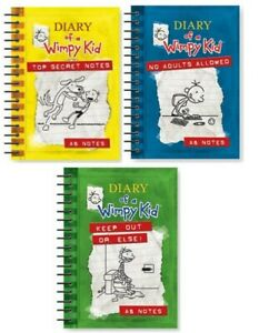 Diary Of A Wimpy Kid A6 Notebook