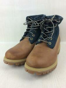 Timberland  Lace-Up 26.5cm Denim Leather A17Bb Indigo Size 26.5cm Boots