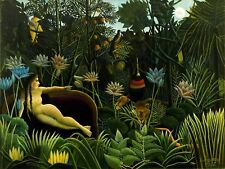PAINTING JUNGLE HENRI ROUSSEAU IL SOGNO 12 X 16 INCH ART PRINT POSTER HP2362